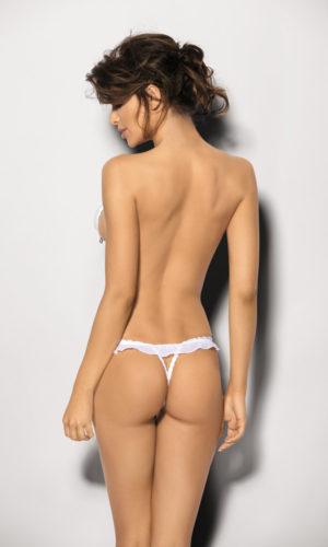 Sexy perizoma aperto bianco
