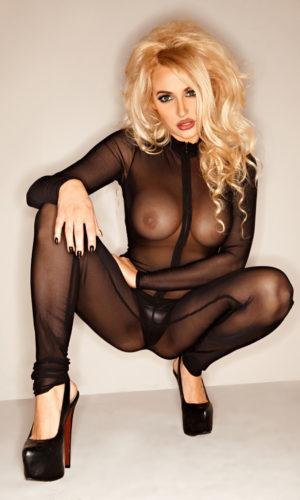 Bodystocking sexy trasparente provocante