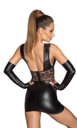 Noir handmade Rebellious lingerie sexy