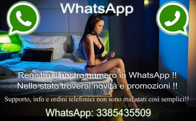 Intimo sexy e lingerie provocante direttamente su whatsapp