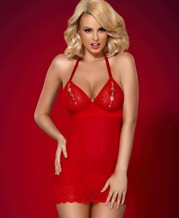 Babydoll rosso provocante