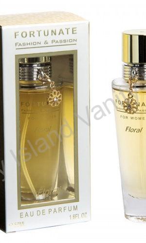 sensuale profumo floral con pendente vanity island