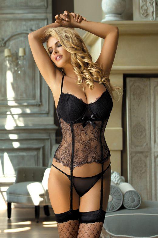 raffinato corsetto guepiere c-410