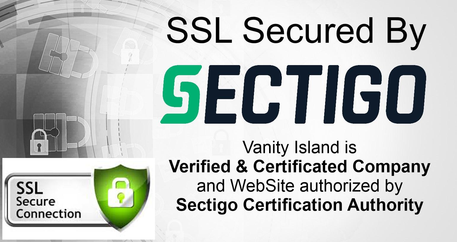 Sicurezza certificata SSL