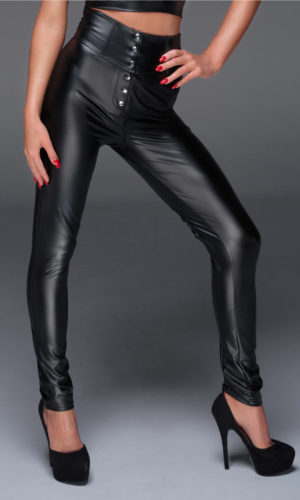 ntalone con stringhe F148 noir handmade 3