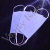 Mascherina nera in cotone con tasca filtro UOMO-DONNA-BAMBINO AZZURRO