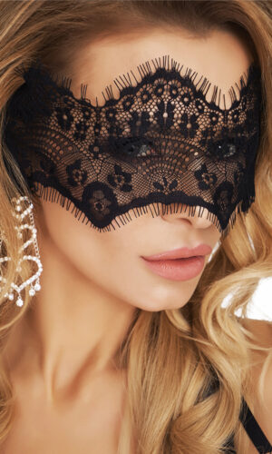 Sensuale mascherina bad in pizzo