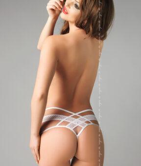 sexy tanga amber bianco