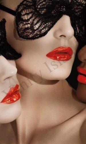 donne mascherate