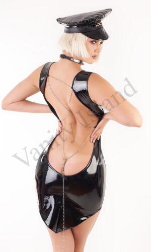 Minidress Svetlana con scollatura posteriore nero