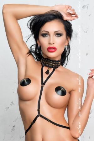 Sexy imbracatura nera Me Seduce