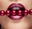 padrona bocca perle