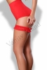 sexy giarettiera rossa provocative vanity island sexy lingerie 1