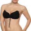 Reggiseno adesivo nero Vanity Island sexy lingerie