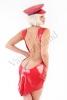 Minidress Svetlana con scollatura posteriore red